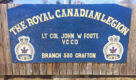Welcome to the Grafton Legion, RCL 580