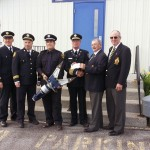 Cheque Presentation to Fire Dept July 16, 2014