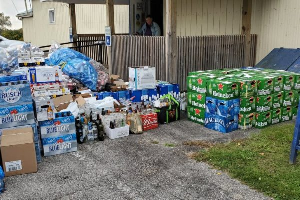 Bottle Drive Oct 8 2020